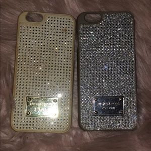 Two MK IPHONE 6S Cases